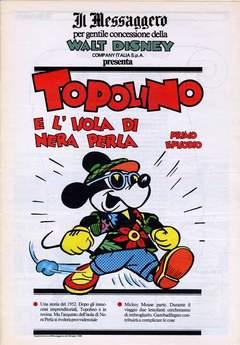 Copertina TOPOLINO SUPPLEM. MESSAGGERO n.80 - TOPOLINO SUPPLEM. MESSAGG   80, IL MESSAGGERO