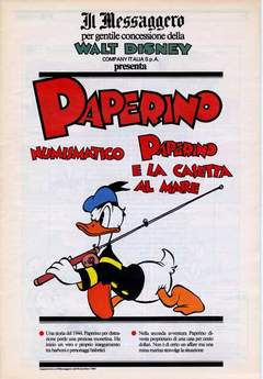 IL MESSAGGERO - TOPOLINO SUPPLEM. MESSAGGERO