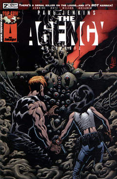 Copertina AGENCY M6 n.2 - Houston, We Have a Problem..., IMAGE COMICS