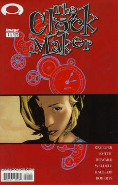 Copertina CLOCK MAKER M12 n.1 - The Clock Maker, Chapter One, IMAGE COMICS