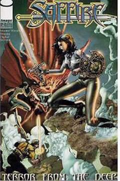 Copertina SAFFIRE n.2 - Terror from the Deep, IMAGE COMICS
