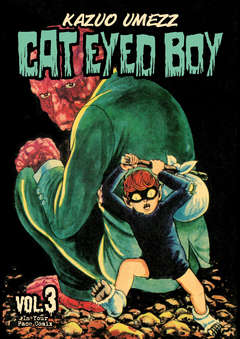 Copertina CAT EYED BOY n.3 - CAT EYED BOY, IN YOUR FACE COMIX