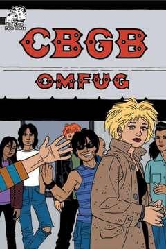 Copertina CBGB n. - CBGB, IN YOUR FACE COMIX