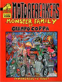 Copertina MOTORFREAKERS n. - MONSTER FAMILY, IN YOUR FACE COMIX