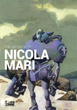 Copertina ARTBOOK NICOLA MARI n. - ARTBOOK NICOLA MARI - Edizione REGULAR, INKIOSTRO EDIZIONI