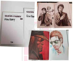 Copertina ARTBOOK OF GLENN FABRY n.3 - ARTBOOK GLENN White Edition, INKIOSTRO EDIZIONI