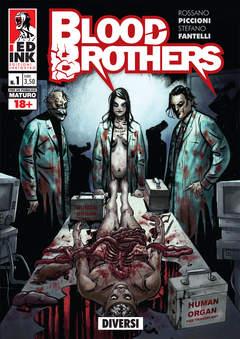 Copertina BLOOD BROTHERS n.1 - DIVERSI, INKIOSTRO EDIZIONI