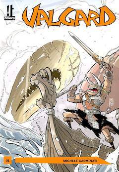 Copertina VALGARD n.1 - VALGARD, IT COMICS