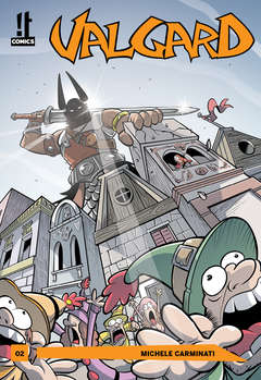 Copertina VALGARD n.2 - VALGARD, IT COMICS