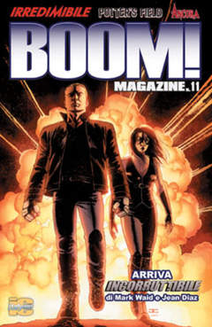 Copertina BOOM! MAGAZINE n.11 - BOOM! MAGAZINE, ITALYCOMICS