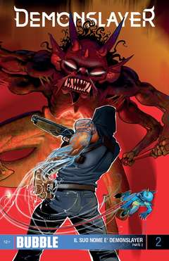 Copertina DEMONSLAYER n.2 - IL SUO NOME E' DEMONSLAYER 2, ITALYCOMICS