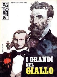 Copertina SUPERBA COMIX n.2 - GRANDI DEL GIALLO, IVALDI EDITORE