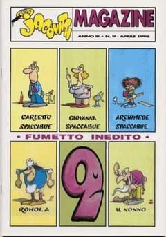 Copertina JACOVITTI MAGAZINE n.9 - JACOVITTI MAGAZINE           9, JACOVITTI CLUB