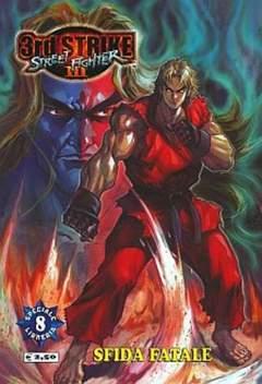 Copertina STREET FIGHTER III 3RD STRIKE n.8 - SFIDA FATALE, JEMM EDIZIONI