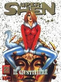 Copertina SUPER SHEN n.23 - IL GIUSTIZIERE, JEMM EDIZIONI