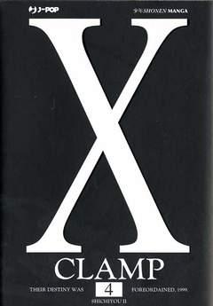 Copertina X n.4 - X, JPOP