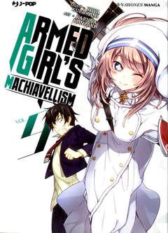 Copertina ARMED GIRL'S MACHIAVELLISM n.9 - ARMED GIRL'S MACHIAVELLISM, JPOP