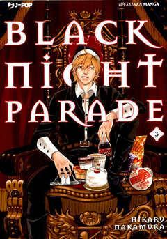 Copertina BLACK NIGHT PARADE n.3 - BLACK NIGHT PARADE, JPOP