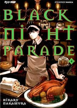 Copertina BLACK NIGHT PARADE n.4 - BLACK NIGHT PARADE, JPOP