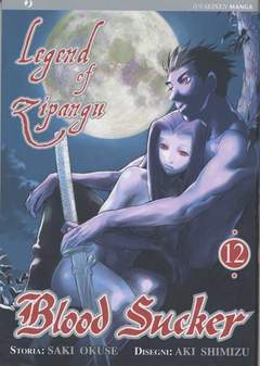 Copertina BLOOD SUCKER - LEGEND OF ZIPANGU n.12 - BLOOD SUCKER - LEGEND OF ZIPANGU, JPOP
