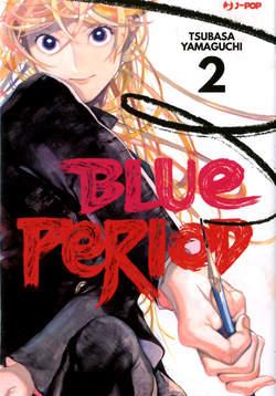 Copertina BLUE PERIOD n.2 - BLUE PERIOD, JPOP