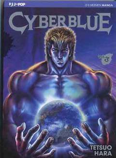 Copertina CYBER BLUE n.3 - CYBER BLUE, JPOP