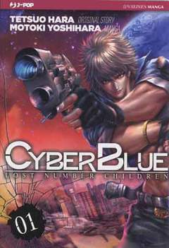 Copertina CYBER BLUE - LOST NUMBER CHILDREN n.1 - CYBER BLUE - LOST NUMBER CHILDREN, JPOP