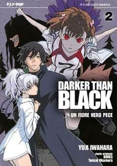Copertina DARKER THAN BLACK (m4) n.2 - UN FIORE NERO PECE, JPOP