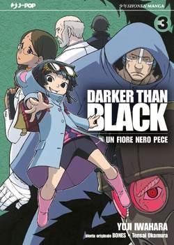 Copertina DARKER THAN BLACK (m4) n.3 - UN FIORE NERO PECE, JPOP