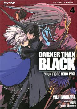 Copertina DARKER THAN BLACK (m4) n.4 - UN FIORE NERO PECE, JPOP