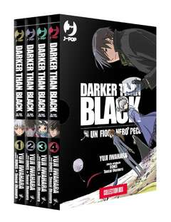 Copertina DARKER THAN BLACK (m4) n. - UN FIORE NERO PECE Box (1/4), JPOP