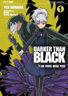Copertina DARKER THAN BLACK n.1 - UN FIORE NERO PECE, JPOP