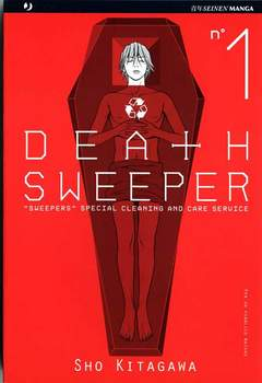 Copertina DEATH SWEEPER n.1 - DEATH SWEEPER, JPOP