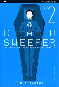 Copertina DEATH SWEEPER n.2 - DEATH SWEEPER, JPOP