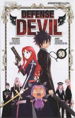 Copertina DEFENSE DEVIL n.10 - DEFENSE DEVIL, JPOP