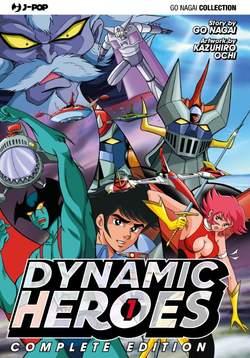 Copertina DYNAMIC HEROES n.1 - DYNAMIC HEROES, JPOP