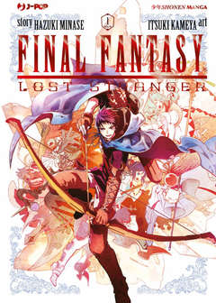 Copertina FINAL FANTASY LOST STRANGER n.1 - FINAL FANTASY: LOST STRANGER, JPOP