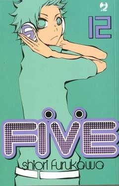 Copertina FIVE (m15) n.12 - FIVE, JPOP