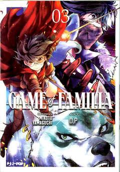 Copertina GAME OF FAMILIA n.3 - GAME OF FAMILIA 3, JPOP