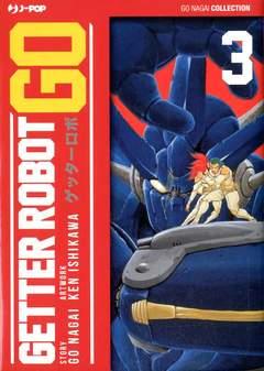 Copertina GETTER ROBOT GO (m3) n.3 - GETTER ROBOT GO, JPOP