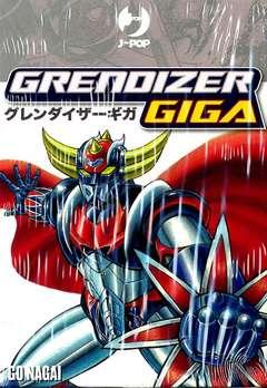 Copertina GIGA GRENDIZER Box n. - GRENDIZER GIGA 1/2, JPOP