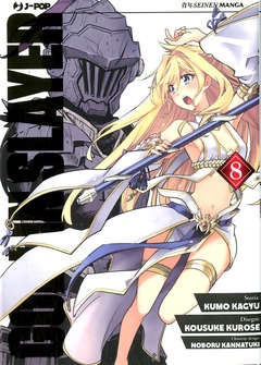 Copertina GOBLIN SLAYER n.8 - GOBLIM SLAYER, JPOP
