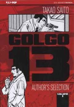 Copertina GOLGO 13 n.1 - GOLGO 13                     1, JPOP