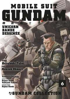 Copertina GUNDAM UNICORN BANDE DESSINEE n.6 - GUNDAM UNICORN - BANDE DESSINEE, JPOP