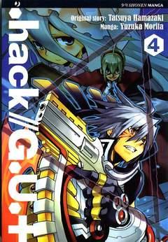 Copertina HACK//G.U.+ n.4 - HACK//G.U.+, JPOP