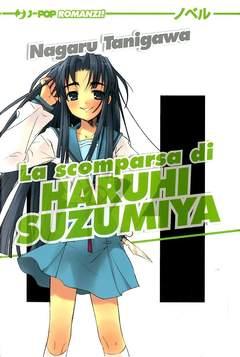 Copertina HARUHI SUZUMIYA romanzo n.4 - LA SCOMPARSA DI HARUHI SUZUMIYA, JPOP