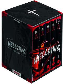 Copertina HELLSING New Edition Box n. - HELLSING 1/5, JPOP