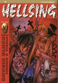 Copertina HELLSING serie n.10 - HELLSING, JPOP