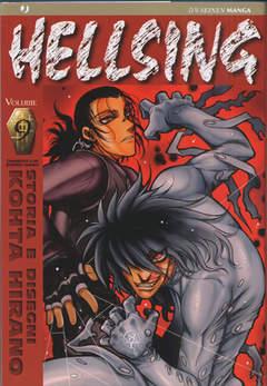 Copertina HELLSING serie n.9 - HELLSING, JPOP