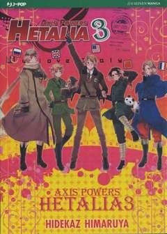 Copertina HETALIA n.3 - AXIS POWER - HETALIA, JPOP